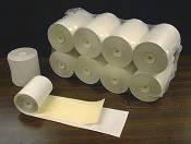 82 mm - 3 1/4 in Wide 2-Ply Bond Paper; roll (PA82B2108)
