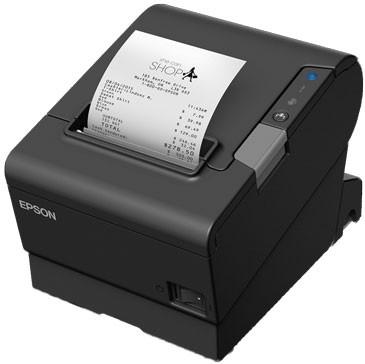 Epson TM-T88VI Serial Printer; no P/S; black (TM886SBBNG)
