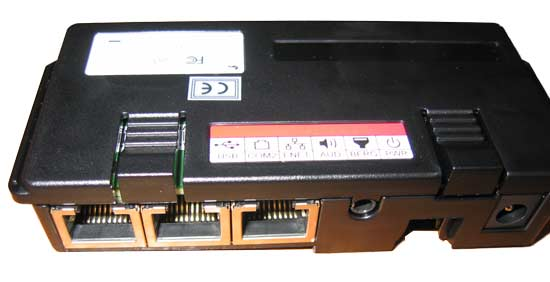 VeriFone I/O Block connector view