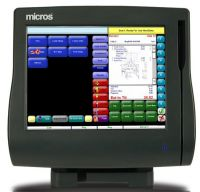 Micros WS4 Terminal with Stand (MWS4)