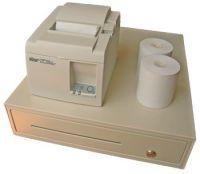 Square Register Starter Kit; white (STRT143EW)