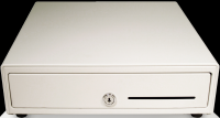 APG 13 Vasario Cash Drawer; white (APG1313WW)