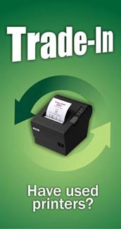 Trade-in your printers for cash.